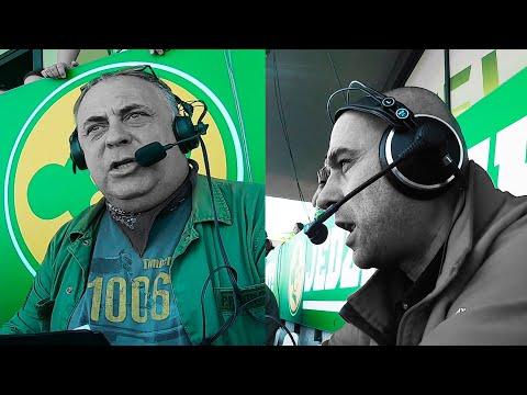Wideo1: Radiowi sprawozdawcy podczas półfinału PGE Ekstraligi RM Solar Falubaz Zielona Góra - FOGO Unia Leszno