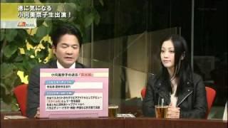 小向美奈子TOKYOMXテレビに生出演1/4
