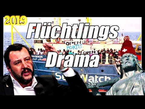 Salvini bleibt standhaft | Sea Watch 3 | Flüchtlingsdrama