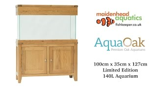 Aqua Oak 100cm 'Slim' Aquarium *Limited Edition* (AQ100SL)