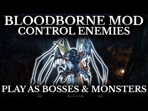 Bloodborne Mod - Control Enemies & Play As Bosses - Restored Debug Mode