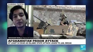 Afghanistan Prison Attack: At Least 24 Dead As Islamic State Attack Leads To Jail Break