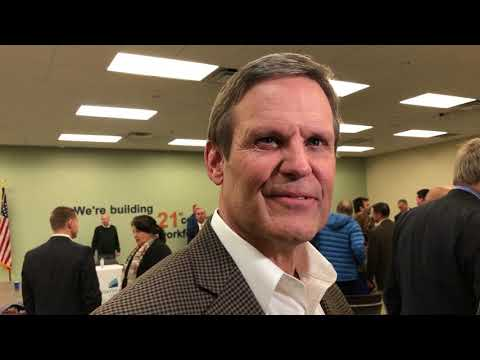 Video: Tennessee Gov. Bill Lee interviewed by reporters Feb. 1, 2019