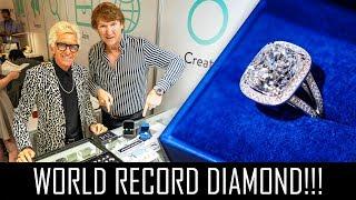 WORLDS BIGGEST LAB GROWN DIAMOND!!!