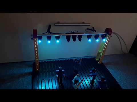 par LED Bühnenbeleuchtung mit Arduino selber bauen