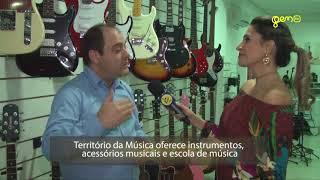 GLAMOUR - Inauguração Da Loja De Instrumentos Território Da Musica