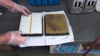 Air Filter Replacement Toyota Prius