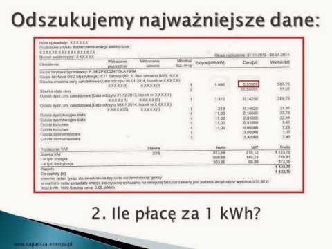Czy płatność za energię elektryczną zależy od liczby mieszkańców
