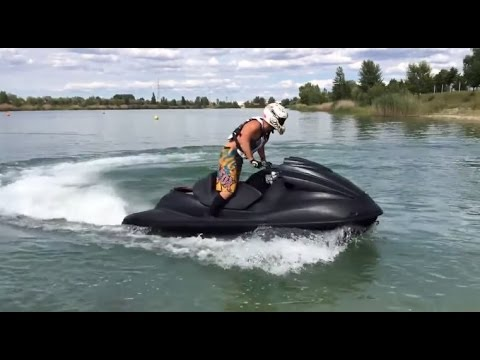 Hayabusa engine in a jet ski
