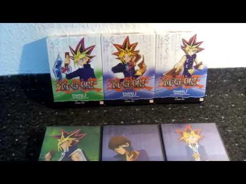 Yu-Gi-Oh Box DVD Hüllen