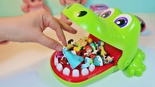 Челендж Игра Крокодил Пупсики Играют Открываем Сюрпризы Маша и Медведь Зырики ТВ Куклы Куча Игрушек