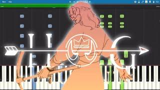 """Hog Hunt"": GHOST - Piano Tutorial - Dream SMP SAD-ist (Marvin Brooks 2WEI Remix)"