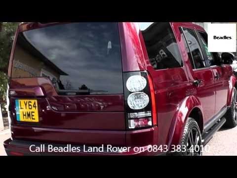 Beadles Montalcino Red 2015 Land Rover Discovery SDV6 SE TECH 3l