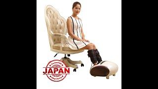 Vidieo Máy massage chân áp suất khí Nhật Bản Nikio NK-188 - 2in1