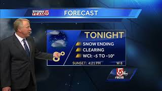 Video: Wind chills below zero New Year's Eve