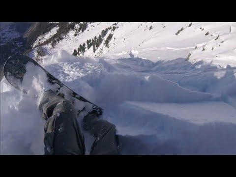 30 sekúnd hrôzy mladého snowboardistu