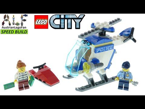 Vidéo LEGO City 60275 : L'hélicoptère de la police
