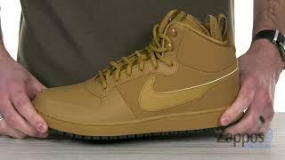 Nike Mens Ebernon Mid Winter Shoe म फ त ऑनल इन