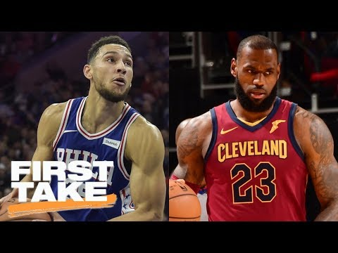 Stephen A. and Max pick 76ers to beat Cavaliers   First Take   ESPN