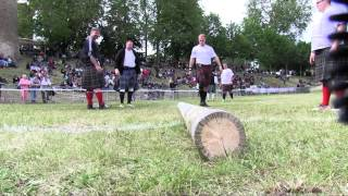 preview picture of video 'HIGHLAND GAMES DE BRESSUIRE'