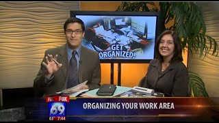 Professional Organizer Kathi Burns Organizing Fox 5 News Producer