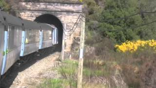 preview picture of video 'Greymouth and the TranzAlpine Train to Christchurch'