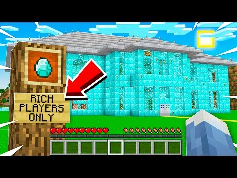 GOLD DIGGER Will ONLY Let RICH PLAYERS Inside This HOUSE...