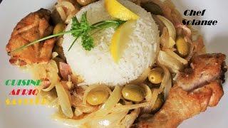 Poulet   YASSA  Cuisine Africaine