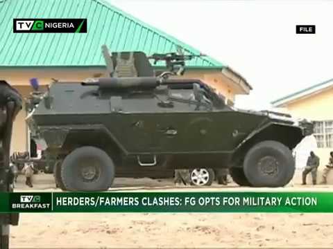 TVC Breakfast 31st Jan. 2018 |  Herders/Farmers Clashes: FG Opts for Military Action
