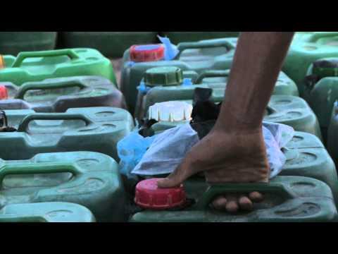 Der Wert auf das Benzin in moskwe