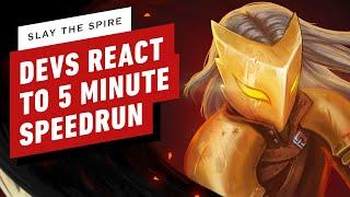 Slay the Spire Developers React to 5 Minute Speedrun