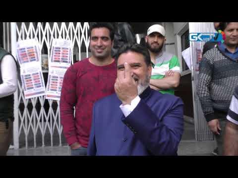 Altaf Bukhari casts vote, says Farooq Abdullah best choice for Srinagar Lok Sabha seat
