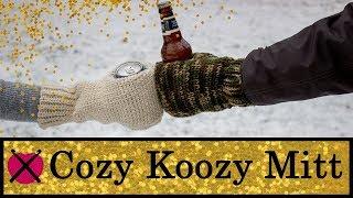 Cozy Koozy Mitt | FREE Crochet Pattern Tutorial