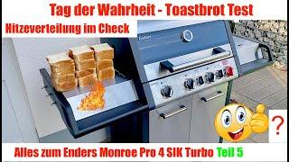Enders Monroe Pro 4 SIK Turbo Toastbrot Test  #Gasgrill #Enders