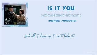 [Engsub] Is It You - Rachael Yamagata (봄밤 / One Spring Night OST Part 3)