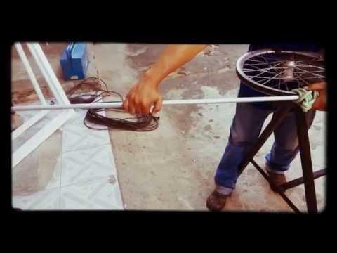 Como curvar tubos de Alumínio em casa