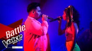 พัตเตอร์ VS Eyestyles - Fire - Battle - The Voice Thailand 2019 - 9 Dec 2019