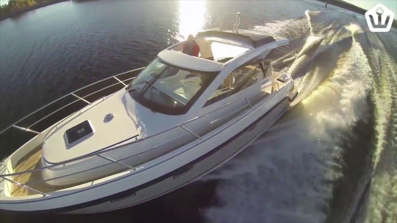 Катер 3 каюты для моря | Аквадор 35 Sport Top - Спортивная яхта