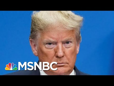 President Donald Trump Calls Justin Trudeau 'Two-Faced' In Response To Hot Mic Video | MSNBC