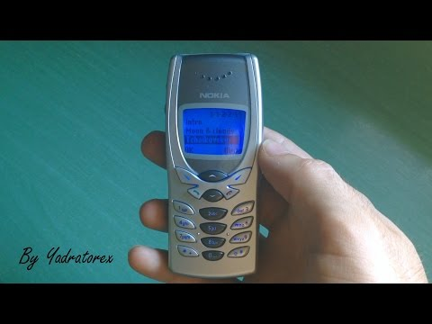 Nokia 8250 retro review (ringtones & games)