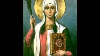 Тропарь святой Нине  წმინდა ნინო