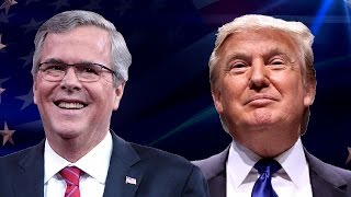 Watch Donald Trump Hilariously Tear Jeb Bush to Shreds