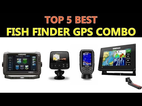 Best Fish Finder GPS Combo 2018
