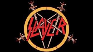 Slayer - Dissident Aggressor (Judas Priest cover) Lyrics on screen