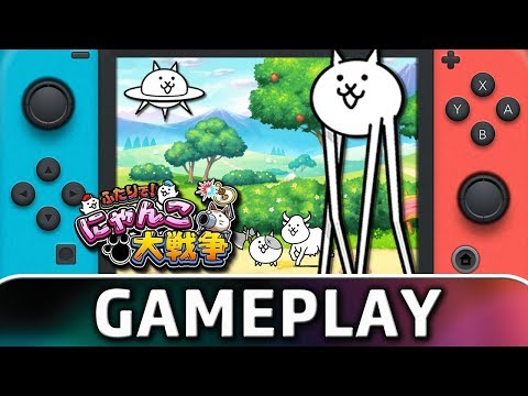 Together! The Battle Cats | Co-op Gameplay on Nintendo