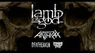Lamb of God – U.S. Headline Tour 2016 Thumbnail