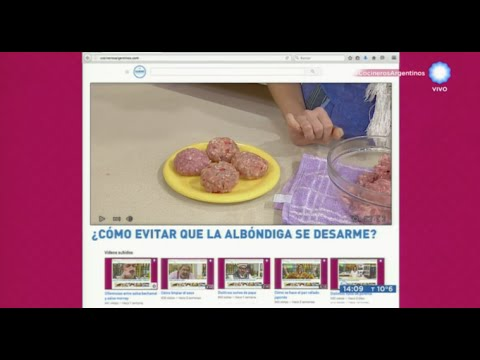 Cómo ligar la carne para hacer albóndigas