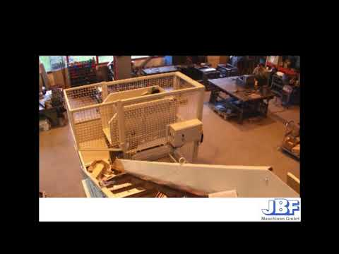 Video of the JBF DCM 600 15.8-16.5kW Data Desctruction Shredder Shredder