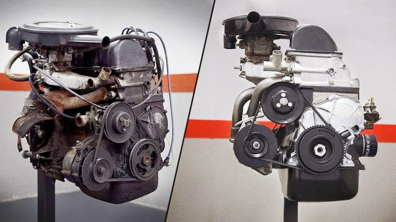 Это красиво: Таймлапс восстановления двигателя Ваз