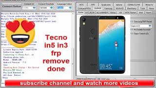 tecno in5 frp unlock cm2 - Kênh video giải trí dành cho